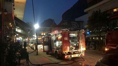 Φωτιά σε διαμέρισμα στο κέντρο της Καλαμπάκας