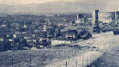 Γενική άποψις των Τρικάλων στα 1920