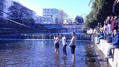 Σε συνθήκες παγετού ο αγιασμός των υδάτων στα Τρίκαλα!
