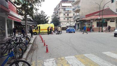 Τραυματισμός γυναίκας σε σύγκρουση ποδηλάτων στα Τρίκαλα