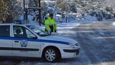 Που απαγορεύεται η κυκλοφορία και που απαιτούνται αλυσίδες στη Θεσσαλία