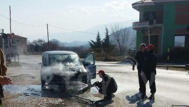 Photo of Φωτιά ξέσπασε σε αυτοκίνητο που βρισκόταν εν κινήσει στην είσοδο της Καλαμπάκας!