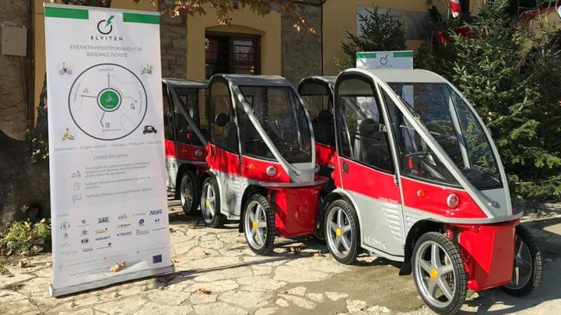 Διαθέσιμα στο κοινό τα ηλεκτρικά οχήματα στα Τρίκαλα