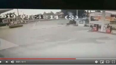 Σοκαριστικό βίντεο της σύγκρουσης τρακτέρ με ποδήλατο στα Τρίκαλα