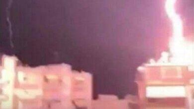 Κεραυνός έπεσε πάνω σε σπίτι στη Θεσσαλονίκη