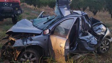Σοκαριστικό τροχαίο με τους δύο νεκρούς στην Λάρισα
