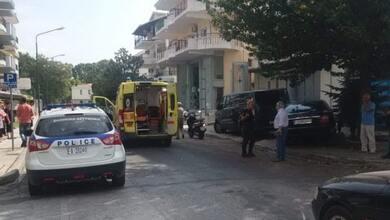 Σύγκρουση οχημάτων με ένα τραυματία στα Τρίκαλα