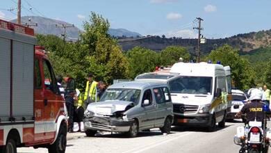 Τροχαίο ατύχημα στην Καλαμπάκας – Ιωαννίνων