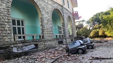 Εικόνες καταστροφής στην Αλβανία από τον ισχυρό σεισμό