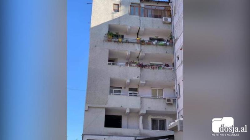 Εικόνες καταστροφής στην Αλβανία από τον ισχυρό σεισμό 1