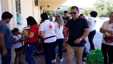 Ο Ερυθρός Σταυρός Τρικάλων δίπλα στους πρόσφυγες στο e-trikala