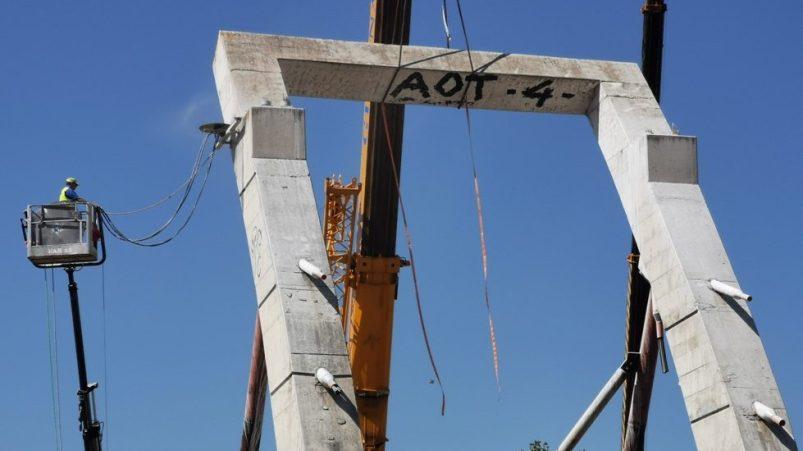 Ήρθε το τέλος για τη «γέφυρα Καλατράβα» των Τρικάλων