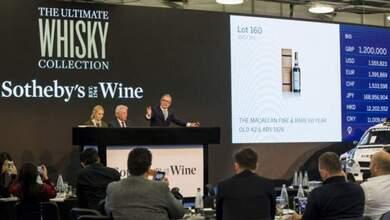 Photo of Ένα μπουκάλι ουίσκι πωλήθηκε για 1,9 εκατ. δολάρια!!! | ΦΩΤΟ