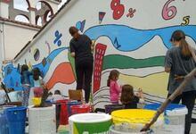 Photo of Χρώμα στα σχολεία των χωριών!