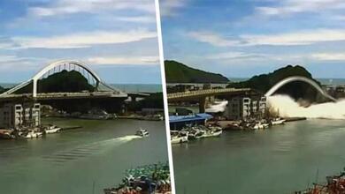 Photo of Γέφυρα κατέρρευσε σαν να ήταν από… χαρτί | ΒΙΝΤΕΟ