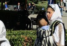 Photo of Γυναίκα Στρατιωτικός παρέλασε αγκαλιά με το μωρό της στα Τρίκαλα   ΦΩΤΟ
