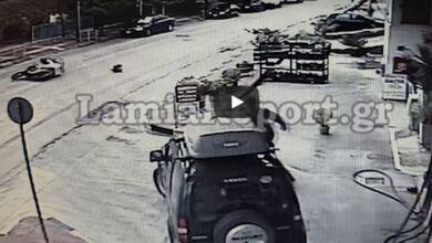 Photo of Αδέσποτο προκάλεσε τροχαίο με ντελιβερά στην Λαμία   ΒΙΝΤΕΟ