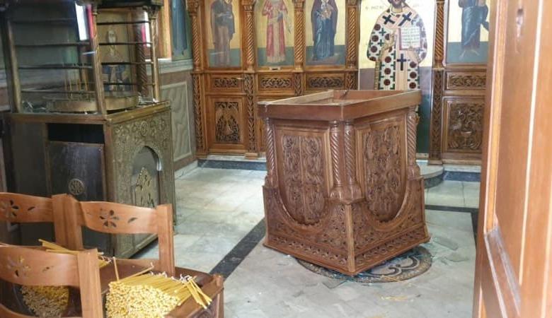 Βεβήλωσαν Ιερό Ναό στο κέντρο των Τρικάλων