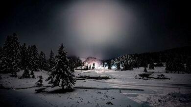 "Photo of Παραμυθένιες εικόνες από το ""Πρώτο Χιόνι"" στο Περτούλι!!!"