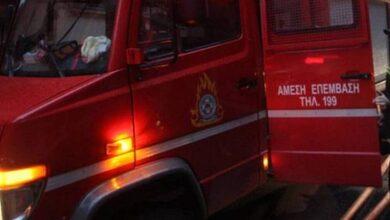 Photo of Στις φλόγες σπίτι στα Μεγάλα Καλύβια