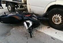 Photo of Τροχαίο ατύχημα δικυκλιστή με φορτηγό στο κέντρο της Καλαμπάκας