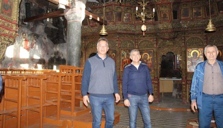 Ξεκινούν τα έργα αναστήλωσης στον Ιερό Ναό Αγίας Παρασκευής Φλαμουλίου