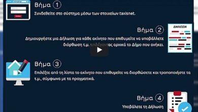 Photo of Με 4 κλικ ο Δήμος δίπλα στον πολίτη για διόρθωση τετραγωνικών