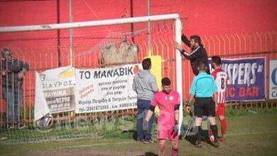 Photo of Ελληνικό Πρωτάθλημα – Επεσε το δοκάρι στη διάρκεια αγώνα | ΦΩΤΟ