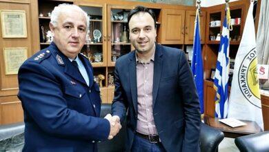 Photo of Στον Δήμαρχο Τρικκαίων ο νέος Αστυνομικός Διευθυντής Τρικάλων