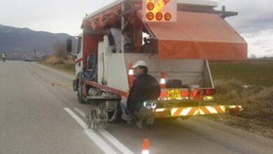 Photo of Διαγράμμιση στο οδικό δίκτυο των Τρικάλων