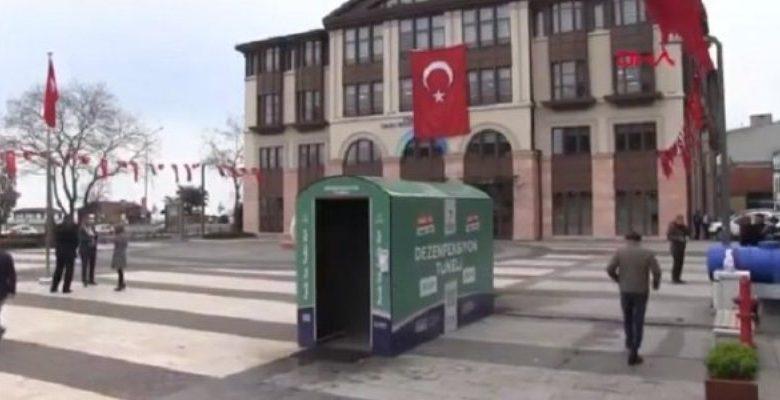 Κορονοϊός: Καμπίνα απολύμανσης με... ατμό στο Όρντου του Πόντου