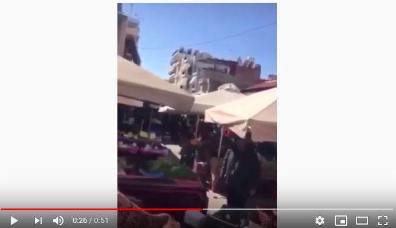 Photo of Viral video με πολίτη να βρίζει για τον συνωστισμό σε λαϊκή αγορά