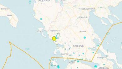 Photo of Iσχυρός σεισμός στην Πάργα – 'Εγινε αισθητός και στα Τρίκαλα