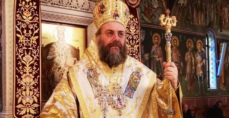 Ο κ. Χρυσόστομος, χοροστάτησε στον εσπερινό για την εορτή του Ευαγγελισμού της Θεοτόκου, κεκλεισμένων των θυρών